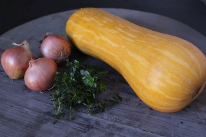 Squash, shallots and thyme